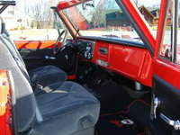 1972 Chevrolet Blazer picture, interior