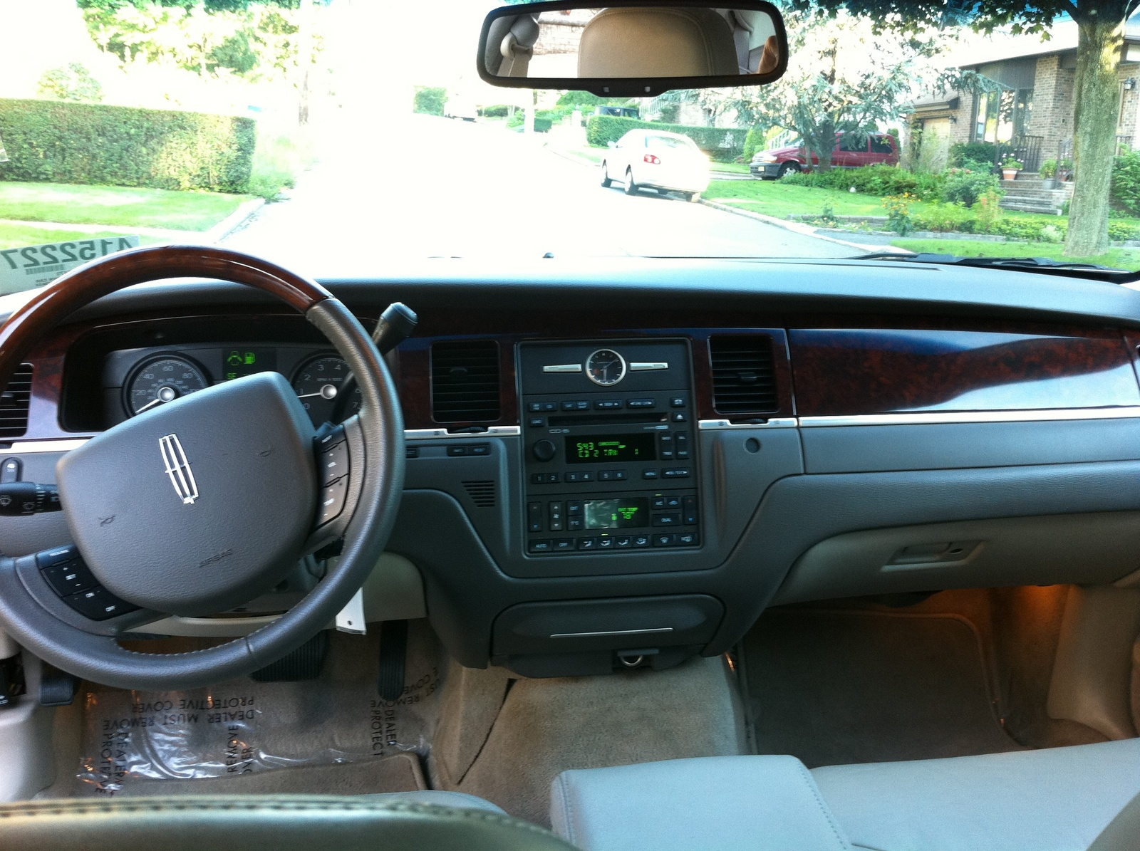 2009 lincoln town car interior pictures cargurus