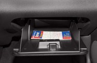 2012 Chevrolet Impala, Close-up of glove compartment copyright AOL Autos. , manufacturer, interior