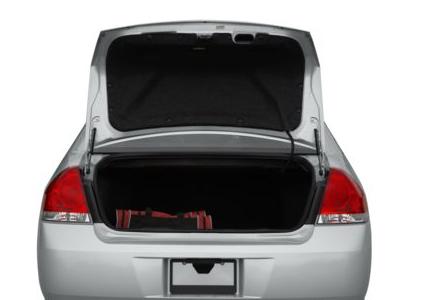 2012 Chevrolet Impala, Open Trunk copyright AOL Autos. , exterior, interior, manufacturer
