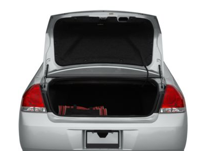 2012 Chevrolet Impala, Open Trunk copyright AOL Autos. , manufacturer, exterior, interior