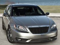 2012 Chrysler 200, Front quarter view copyright AOL Autos. , exterior, manufacturer