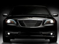 2012 Chrysler 200, Front View copyright AOL Autos. , exterior, manufacturer