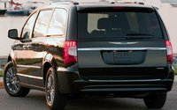 2012 Chrysler Town & Country, Back view. , manufacturer, exterior