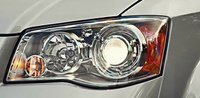 2012 Chrysler Town & Country, Close-up of headlight. , exterior, manufacturer