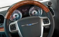 2012 Chrysler Town & Country, Close-up of steering wheel. , manufacturer, interior
