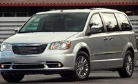 2012 Chrysler Town & Country, Front quarter view. , manufacturer, exterior