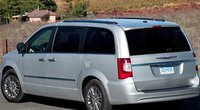 2012 Chrysler Town & Country, Back quarter view. , exterior, manufacturer
