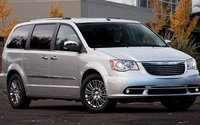 2012 Chrysler Town & Country, Front quarter view. , exterior, manufacturer
