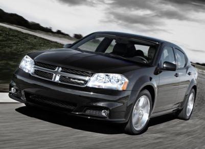 2012 Dodge Avenger, Front quarter view copyright AOL Autos., manufacturer, exterior