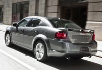 2012 Dodge Avenger, Back quarter view copyright AOL Autos. , manufacturer, exterior