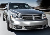 2012 Dodge Avenger, Front View copyright AOL Autos. , manufacturer, exterior