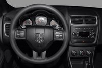 2012 Dodge Avenger, Close-up of steering wheel copyright AOL Autos. , interior, manufacturer