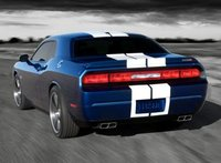 2012 Dodge Challenger, Back quarter view copyright AOL Autos. , exterior, manufacturer
