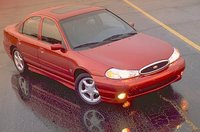 1998 Ford Contour 4 Dr SE Sedan, Stock photo, exterior