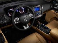 2012 Dodge Durango, Close-up of steering wheel copyright AOL Autos. , interior, manufacturer