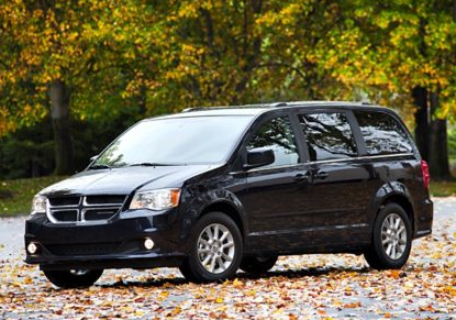 2012 Dodge Grand Caravan, Front quarter view copyright AOL Autos. , exterior, manufacturer, gallery_worthy