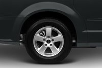 2012 Dodge Grand Caravan, Close-up of tire copyright AOL Auto. , exterior, manufacturer, gallery_worthy