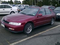 1995 Honda Accord LX, Parked at the airport., exterior