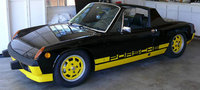 1974 Porsche 914, and now in full color, exterior