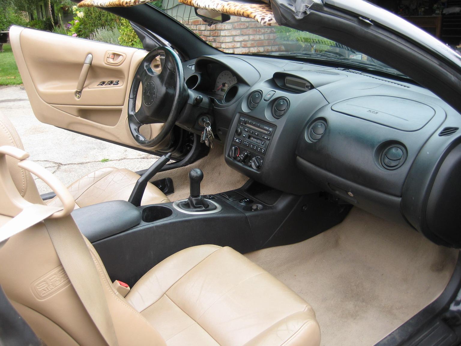 Mitsubishi Spyder Interior