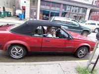1989 Pontiac Sunbird, my ragtop, exterior