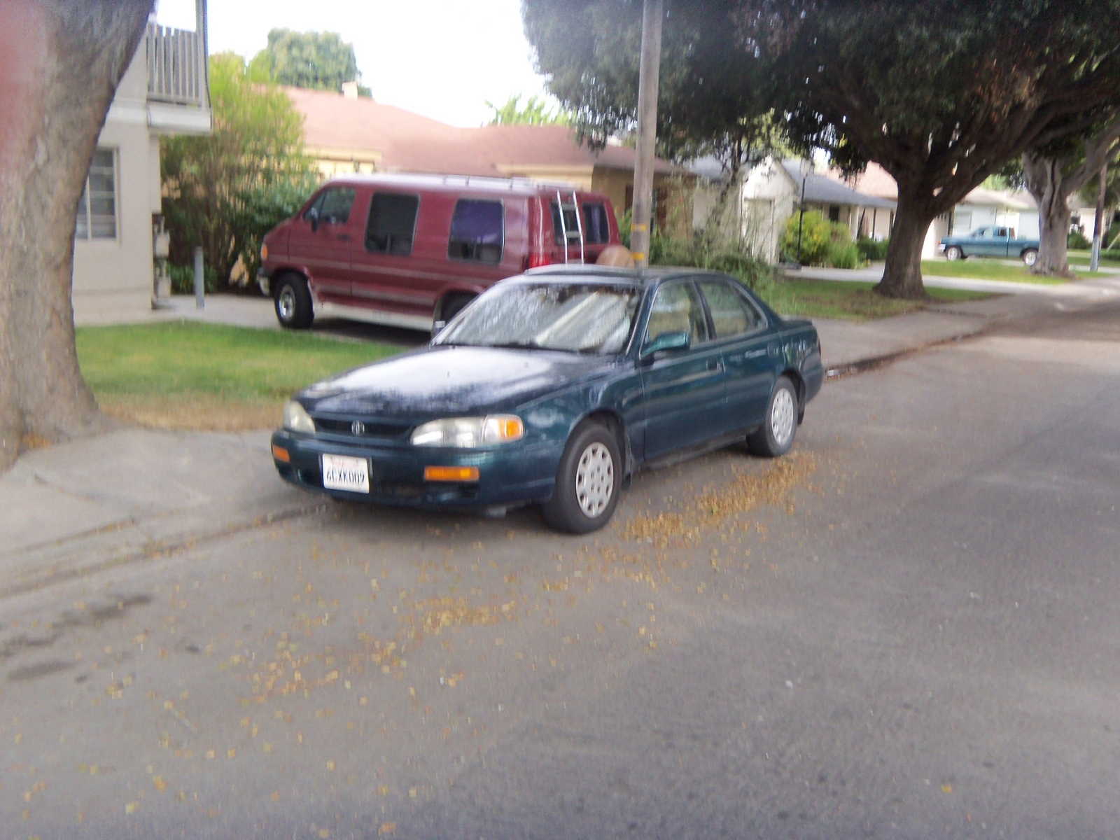1996 Toyota Camry LE, Picture of 1996 Toyota Camry 4 Dr LE Sedan, exterior
