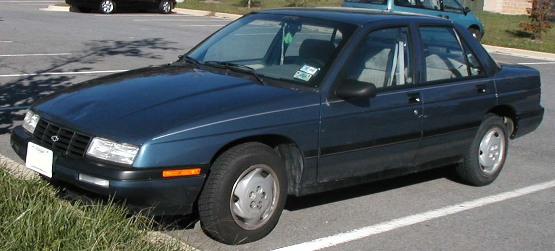 1994 Chevrolet Corsica - Pictures - 1994 Chevrolet Corsica 4 Dr ST ...