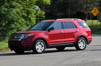 2012 Ford Explorer, Front quarter view, courtesy Ford Motor Company, manufacturer, exterior