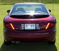 2005 Pontiac Sunfire Base, 2005 Pontiac Sunfire: Rear, exterior