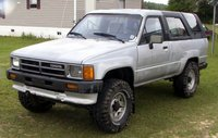 1987 Toyota 4Runner SR5: Top Up Front-Driver, exterior