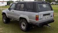 1987 Toyota 4Runner SR5: Top Up Rear-Driver, exterior