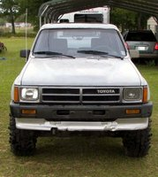 1987 Toyota 4Runner SR5: Top Down Front