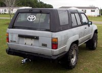 1987 Toyota 4Runner SR5: Top Up Rear-Passanger, exterior