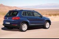 2012 Volkswagen Tiguan, Back quarter view., exterior, manufacturer