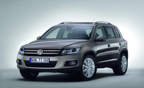 2012 Volkswagen Tiguan, Front quarter view., exterior, manufacturer
