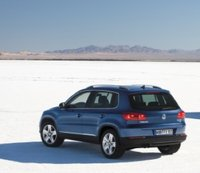 2012 Volkswagen Tiguan, Back quarter view. , exterior, manufacturer, gallery_worthy