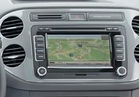 2012 Volkswagen Tiguan, Close-up of sound system., interior, manufacturer