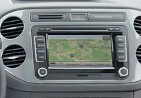 2012 Volkswagen Tiguan, Close-up of sound system., manufacturer, interior
