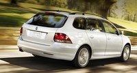 2012 Volkswagen Jetta SportWagen, Back quarter view., exterior, manufacturer