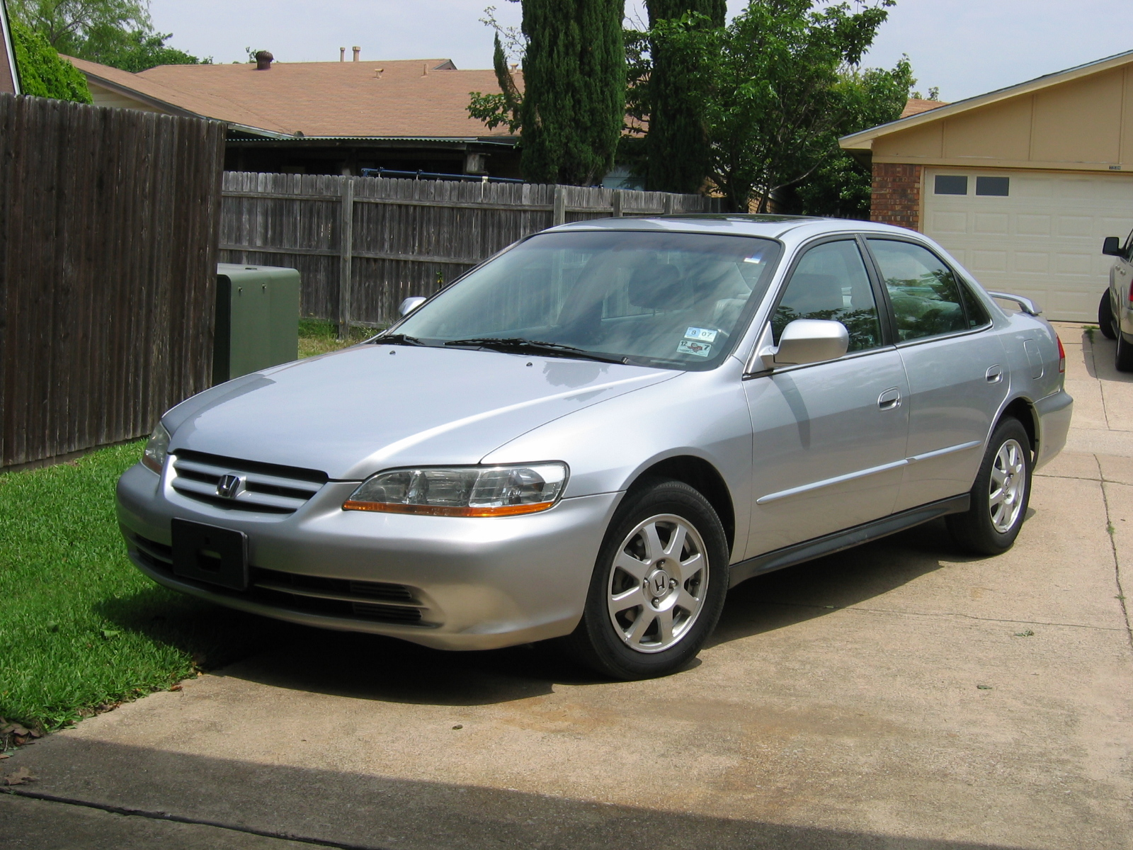 2002 Honda Accord 2 0 Se Related Infomation Specifications