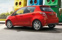 2012 Toyota Yaris, Back quarter view. , exterior, manufacturer