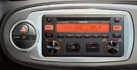 2012 Toyota Yaris, Close-up of radio. , interior, manufacturer