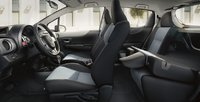 2012 Toyota Yaris, Front and back seat. , interior, manufacturer