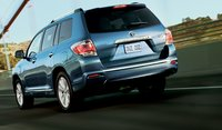 2012 Toyota Highlander, Back View. , manufacturer, exterior
