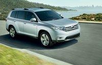 2012 Toyota Highlander, Front quarter view., exterior, manufacturer