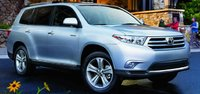 2012 Toyota Highlander, Front View. , exterior, manufacturer, gallery_worthy
