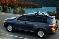 2012 Toyota Highlander, Back View. , exterior, manufacturer, gallery_worthy