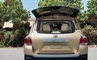 2012 Toyota Highlander, Open trunk. , exterior, manufacturer