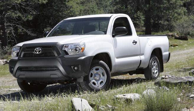 2012 Toyota Tacoma, Front quarter view. , exterior, manufacturer